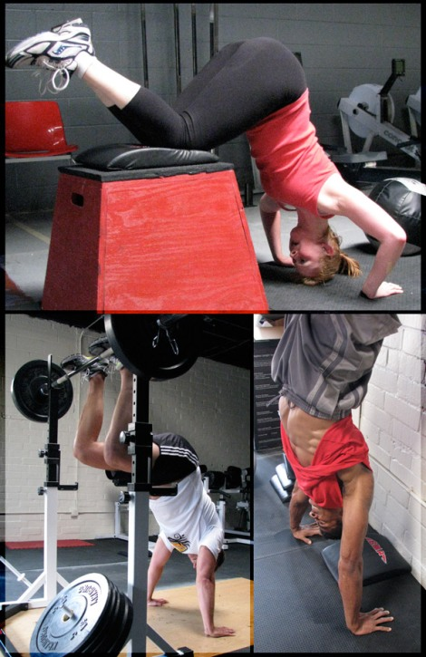 Handstand Push-Up Progressions